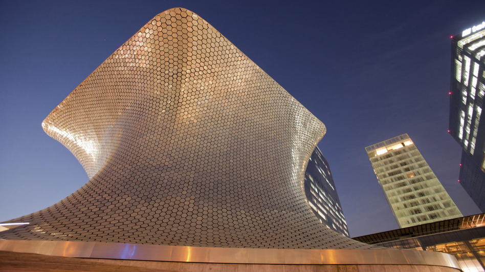 The Soumaya Museum in Mexico City was designed by Carlos Slim's son-in-law and houses Slim's collection of more than 65,000 pieces. It is dominated by works from European and Mexican artists.