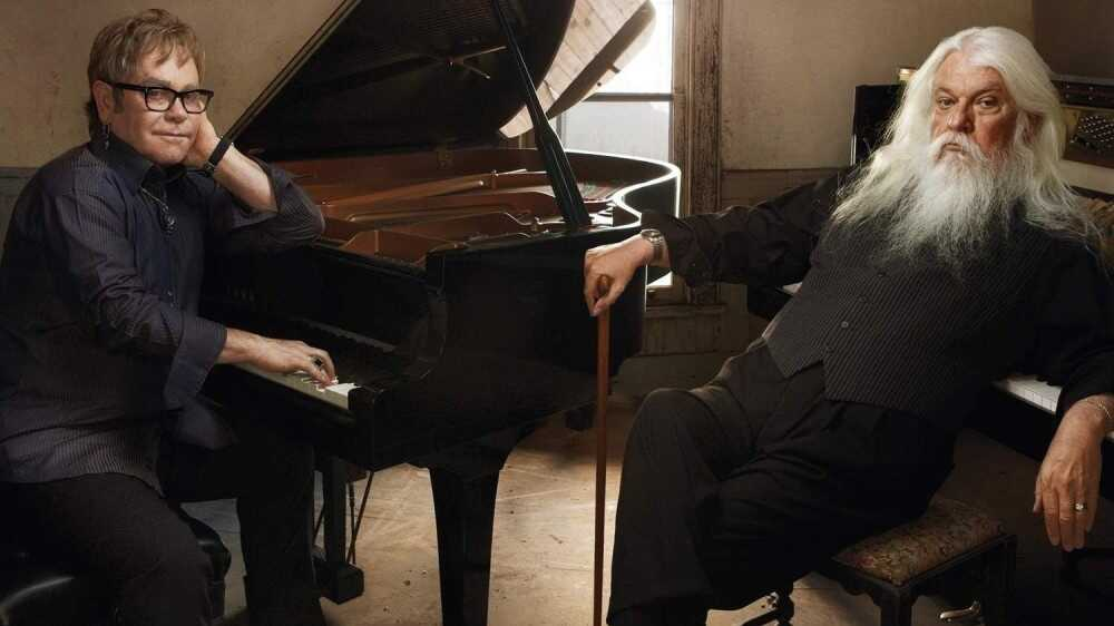 Elton John And Leon Russell On World Cafe