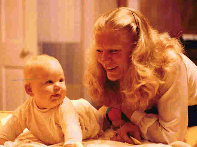 Lars Gotrich with his mom.