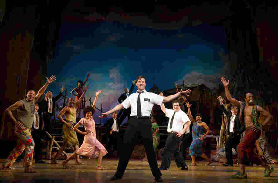 Book Of Mormon cast