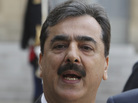 Pakistani Prime Minister Yousuf Raza Gilani, in Paris on May 4, 2011.