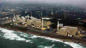 An aerial view of Chubu Electric Power's Hamaoka nuclear power plant in February 2005.