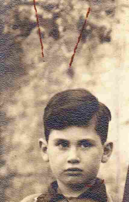 Theodore Meicler as a young boy