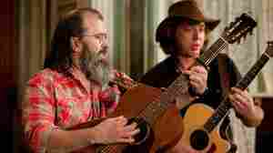 Steve Earle as Harley performs with Jamie Bernstein in episode 13 (season two, episode three) of Treme.