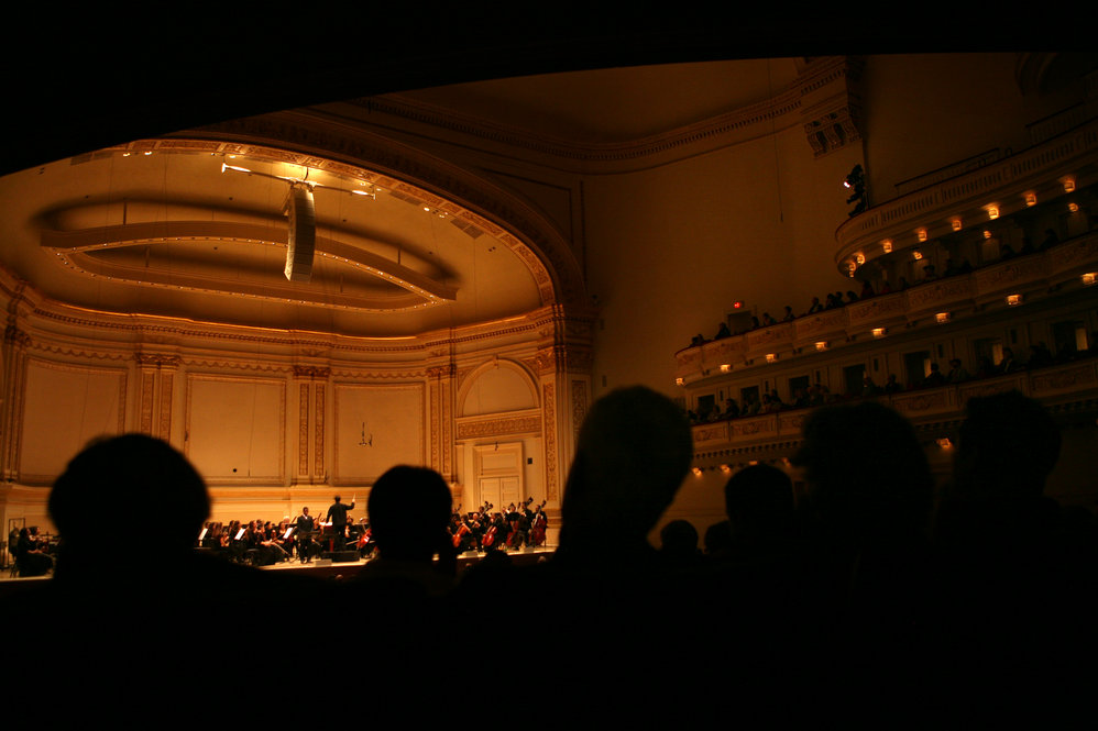Albany Symphony fans --some 600 of them -- made the journey to Manhattan's Carnegie Hall to hear their hometown orchestra play in the Spring for Music festival.