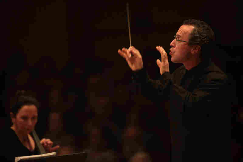 Conductor David Alan Miller became music director of the Albany Symphony in 1992. He has brought a mix of well-known and unusual repertoire to the orchestra.  His innovative programming landed him a spot in the Spring for Music festival.