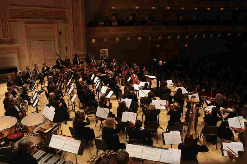 The concert also included Aaron Copland's ballet Appalachian Spring, heard in its complete and fully orchestrated version.