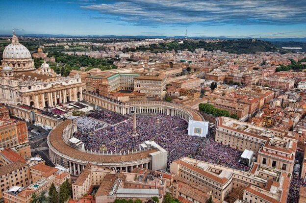 According to the prophecy, The Vatican will also be destroyed by an earthquake.
