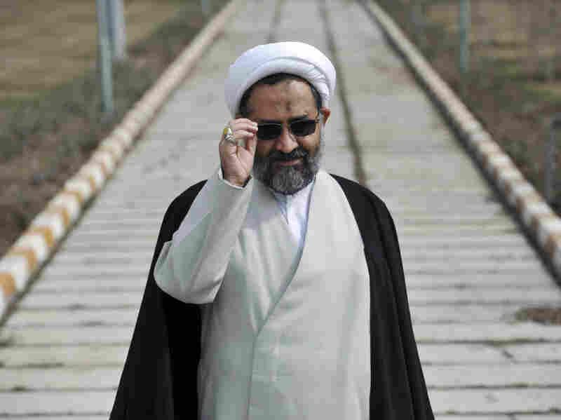 Iranian Intelligence Minister Heydar Moslehi in Tehran in March. President Mahmoud Ahmadinejad fired Moslehi, but he was reinstated by Supreme Leader Ayatollah Ali Khamenei.