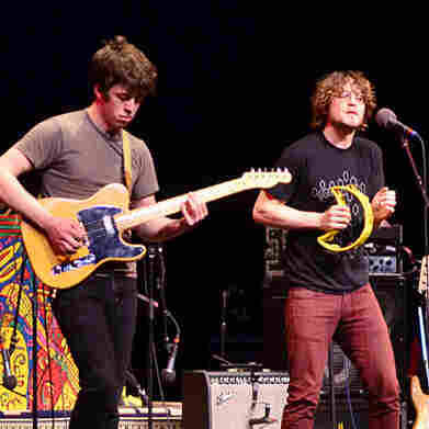 Ra Ra Riot performed on Mountain Stage.