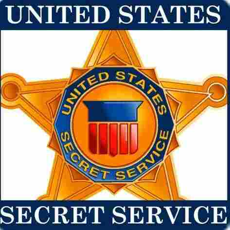The Secret Service logo.