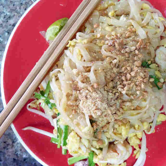 Pad Thai (Thai Fried Noodles)