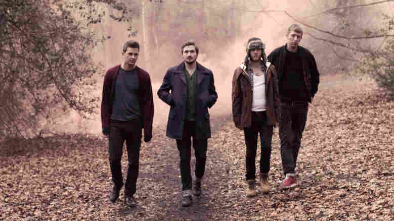 Wild Beasts, from left: Ben Little, Hayden Thorpe, Tom Fleming, Chris Talbot