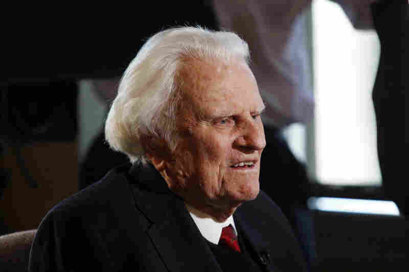 """Scholars say his death marks the end of a historical era, in which one person could unify Protestant Christianity and come to be known as """"America's pastor."""" Graham is interviewed at the Billy Graham Evangelistic Association headquarters in Charlotte, N.C., in 2010."""