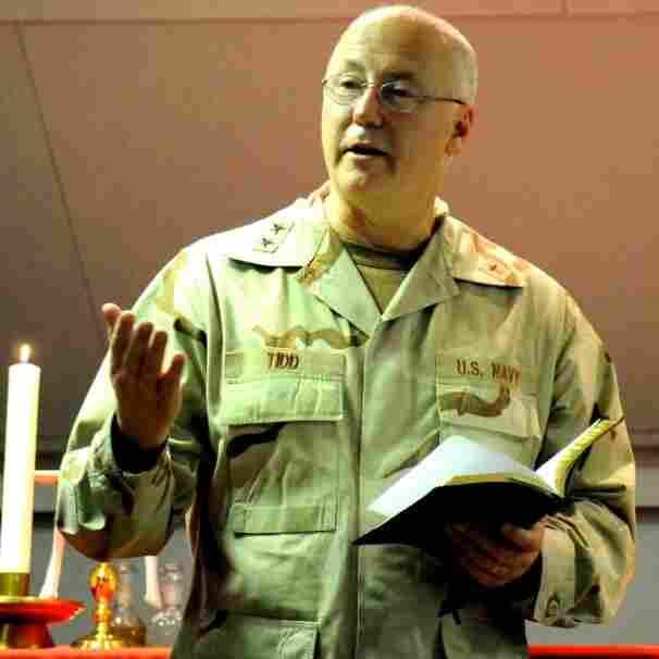 U.S. Navy Chief of Chaplains Rear Adm. Mark Tidd.