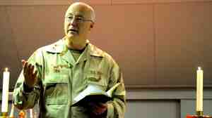U.S. Navy Chief of Chaplains Rear Adm. Mark Tidd.