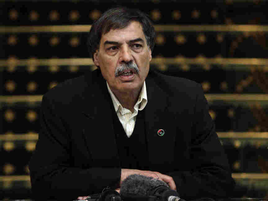 On April 1, Ali Tarhouni tells the media in Benghazi that Qatar agreed to give the rebels money for weapons and other items in exchange for the oil they control.