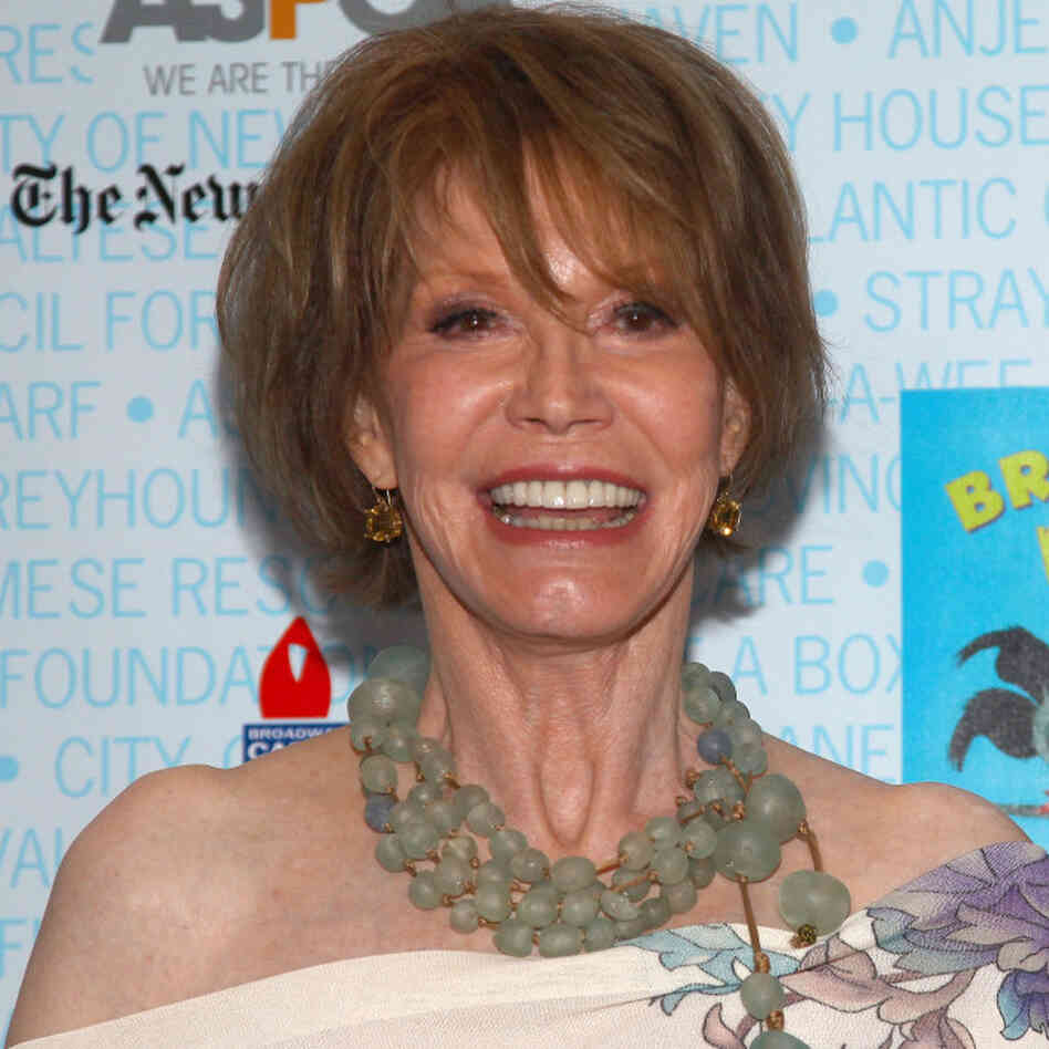 Actress Mary Tyler Moore in July 2009.