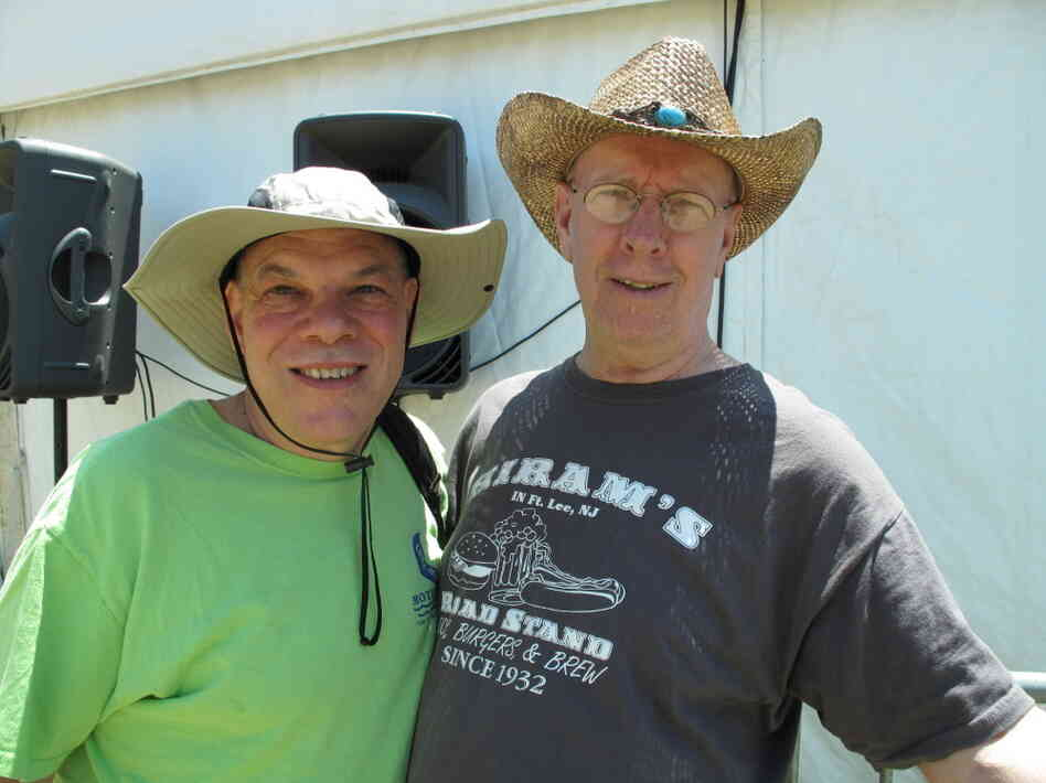 Lewis Milgrim (left) and Bob Milnes, of the New Jersey/New York area.