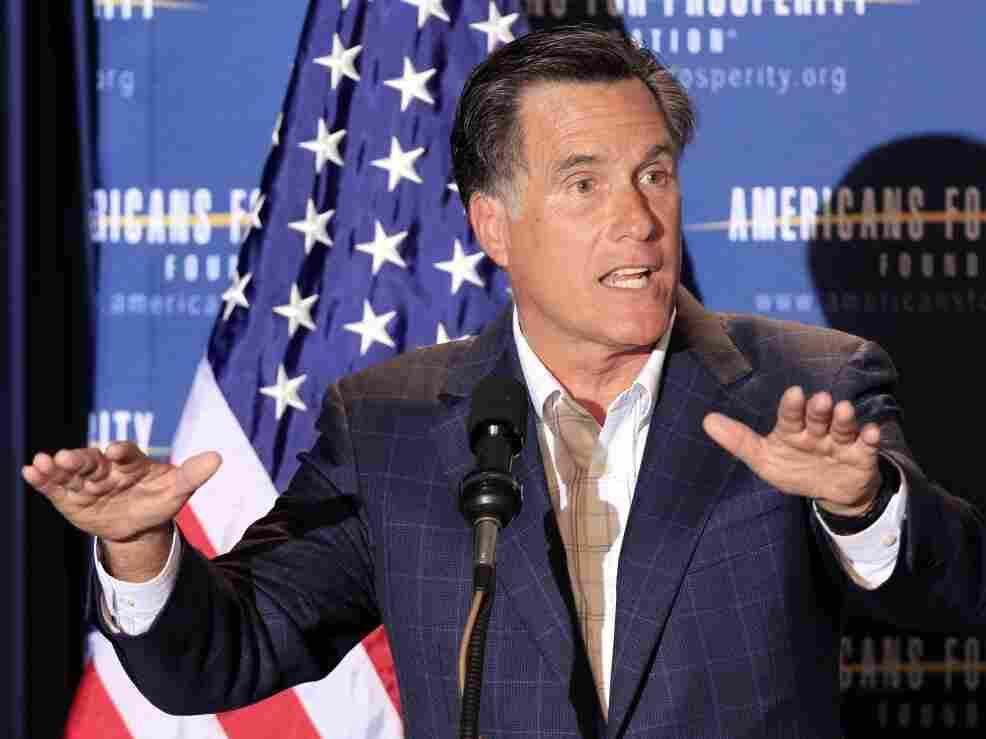Mitt Romney in New Hampshire, April 29, 2011 file photo.