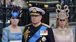 Britain's Prince Andrew and his daughter Princess Beatrice