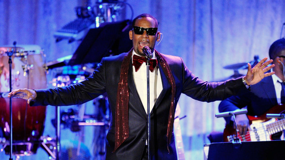 R. Kelly onstage at the 2011 Pre-Grammy Gala in February. (Getty Images)