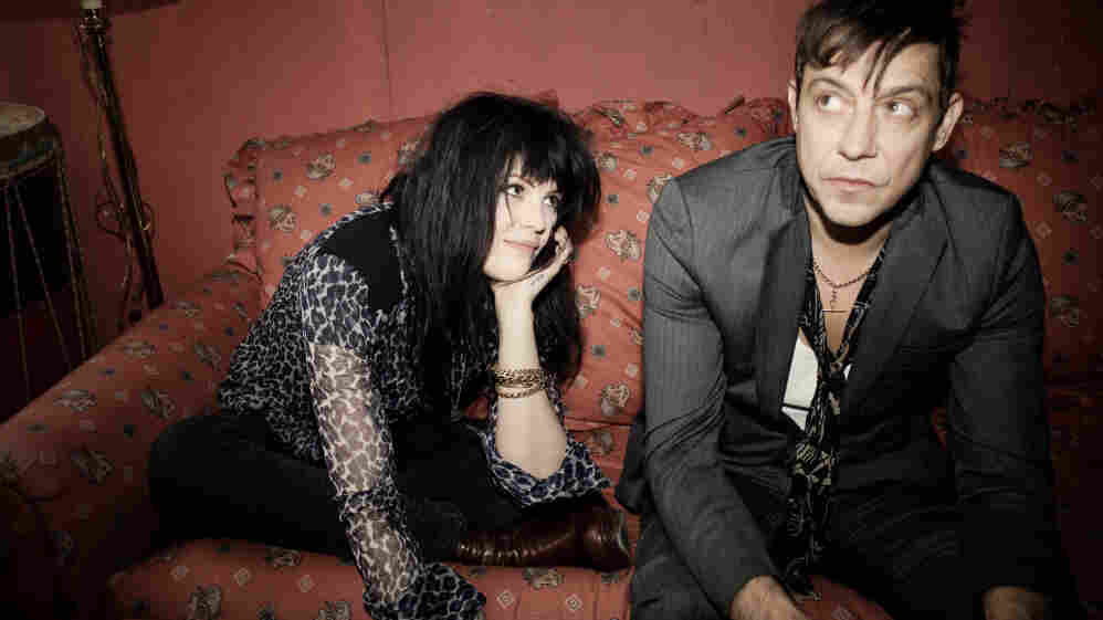 The Kills performed on World Cafe.