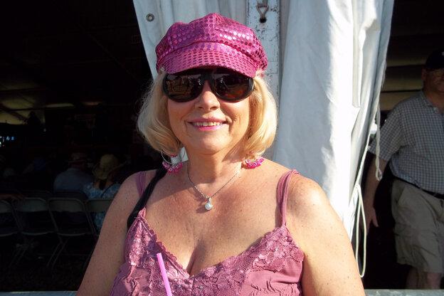 Barb Tomlinson of Dunnville, Ontario, Canada.