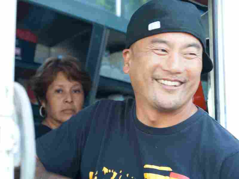 "Chef Roy Choi, owner of Kogi food truck, says he's confounded by food bloggers and trend watchers predicting the food trucks' demise. ""Why are they hating so much?"" he says."
