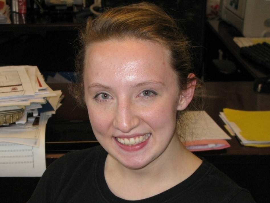 Brittany Langmeyer is a graduate of Loyola University in Chicago. She works as the productions and marketing manager for StreetWise Magazine. She and her father are splitting the cost of college. (NPR)