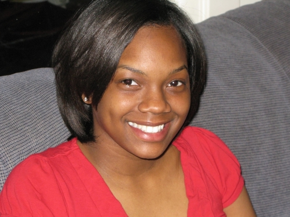Skyy Calice attends Bradley University in Peoria, Ill. She's majoring in criminal justice and sociology. She plans to become a police officer, like her father. (NPR)