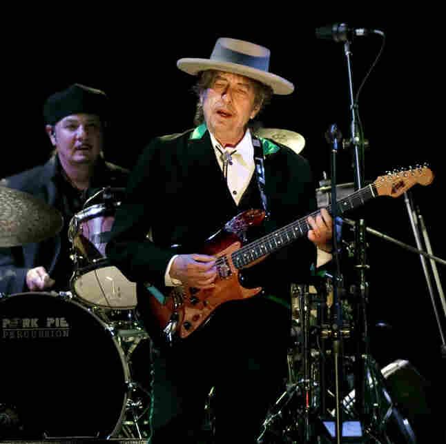 Bob Dylan, during an April 8, 2011 concert in Shanghai.