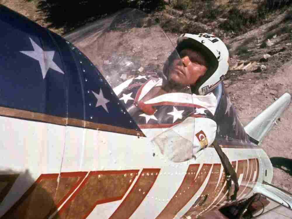 The Wall Street Journal likened Mitt Romney on health care to daredevil Evel Knievel trying to jump the Snake River in Idaho. Knievel failed.