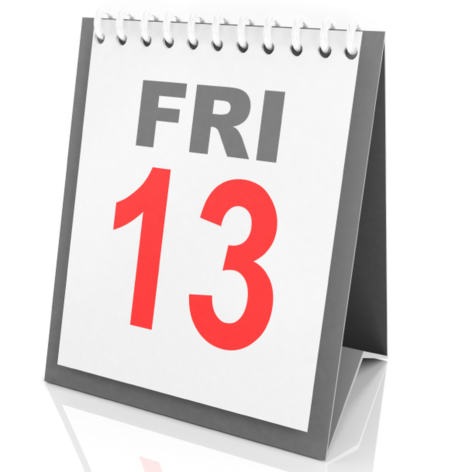 One name for the fear of Friday the 13th is friggatriskaidekaphobia.