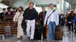Actors Zach Galifianakis, Bradley Cooper, Justin Bartha and Ed Helms reunite in Thailand for The Hangover: Part II.