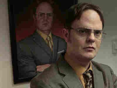 Rainn Wilson as Dwight Schrute on NBC's The Office.