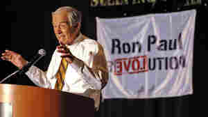 Rep. Ron Paul, R-Texas, speaks to a gathering of Tea Party supporters at the Hyatt Regency in Greenville, S.C., on May 5, 2011.