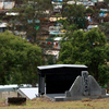 A graveyard that will be recycled by the city of Durban in South Africa. The death  toll in Durban has soared for years, largely due to HIV-related deaths,  and cemeteries are running out of space.