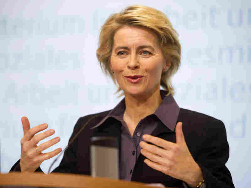 """Ursula von der Leyen, the German labor minister, says voluntary gender quotas set by companies won't be sufficient. """"I want to see conc"""