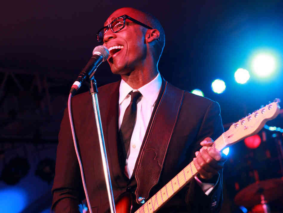 Raphael Saadiq's latest album is called Stone Rollin'.