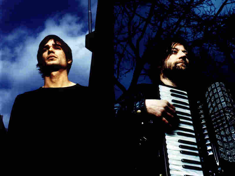 Jon Hopkins (left) and King Creosote collaborate on the new album Diamond Mine, out May 24.