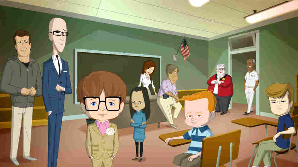 Fox's new animated comedy, Allen Gregory, stars the voice of Jonah Hill, who also created it.