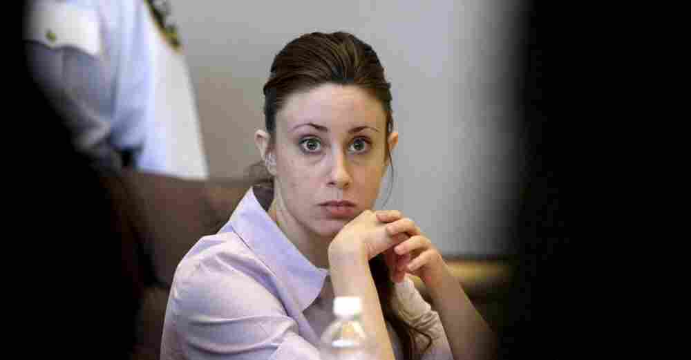 Casey Anthony  sits in the Pinellas County Criminal Justice Center in Clearwater, Fla., on the  second day of jury selection in her trial.   Anthony is charged with first-degree murder in the  death of her 2-year-old daughter, Caylee, in the summer of 2008. Jury  selection is being held outside Orlando because of intense media  coverage.