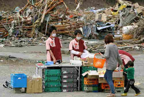 Takashi Watanabe at work at his store.