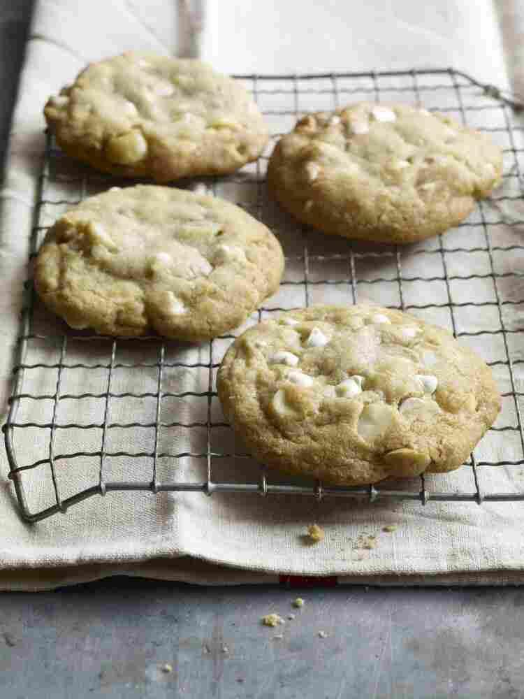 White Chocolate-Macadamia Nut Cookies from Milk & Cookies by Tina Casaceli.