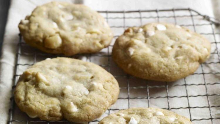 Recipe 39 white chocolate macadamia nut cookies 39 npr for White chocolate macadamia nut cookies recipe paula deen
