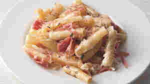 Recipe: 'Baked Ziti In Bianco With Fontina & Salami'