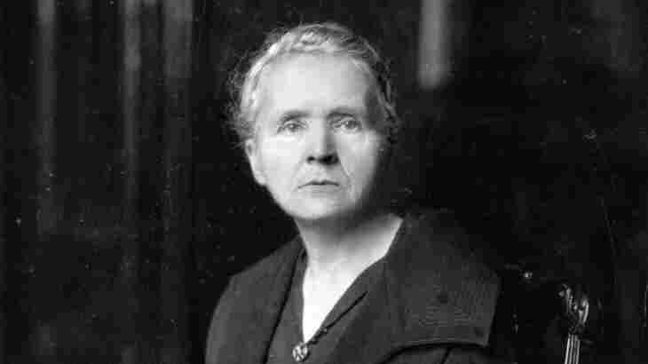 Marie Curie circa 1931.