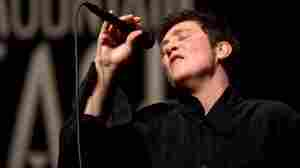 k.d. lang performs on Mountain Stage, way back in 2004.