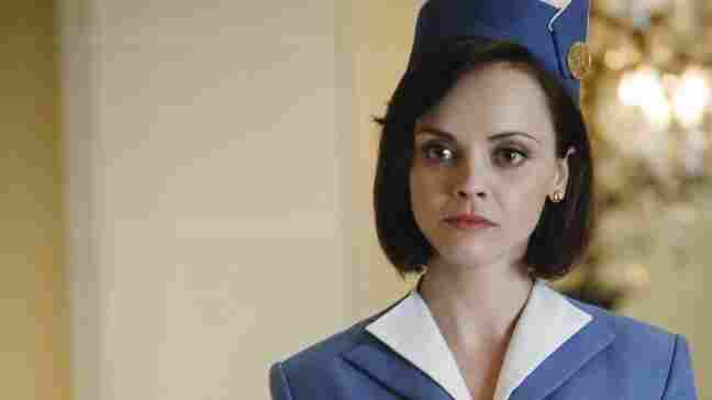 Christina Ricci appears in ABC's new fall drama, Pan Am.